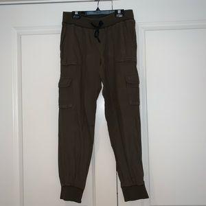 Army Green Cargo Pants, Aritzia, Size XS